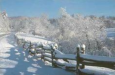 Winter on the Blue Ridge Parkway