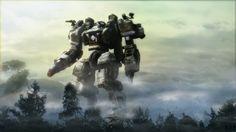 """Giant mech UEF ACU Rnder""by Daniel (Avitus12) | #SciFi #Games #Mecha"
