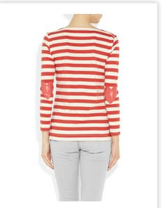 like stripes but love those heart shaped patches!