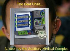 Deaf children..