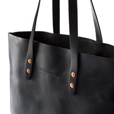The Whipping Post - The Vintage Tote Bag - Antique Black - $195