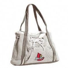Louisville Cardinals Hoodie Purse $29.99 http://shop.uoflsports.com/Louisville-Cardinals-Hoodie-Purse-_2083991506_PD.html?social=pinterest_pfid47-03111