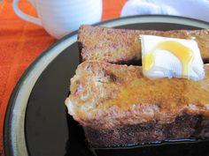 Pumpkin Bread French Toast (nut free) #PaleOMG
