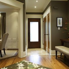 contemporary entry by Gillian Gillies Interiors (GGI)