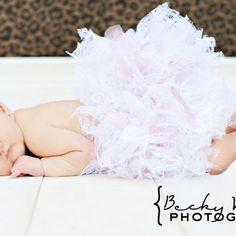 Custom Lace Newborn Infant Tutu Pettiskirt Photo Prop from The Hobby Room on ArtFire