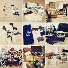 #minsgame Month 02 - Days 10-18 #declutter #noisydeadlines #minimalist #minimalism #paperless