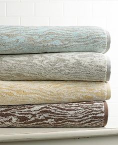 Steal of the Day: Martha Stewart Faux Bois Towels | POPSUGAR Home