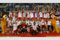 2009, European champions and gold medalists from Poland #volleyball