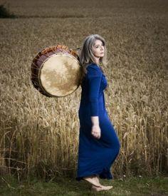 Dame Evelyn Glennie - silver grey tresses