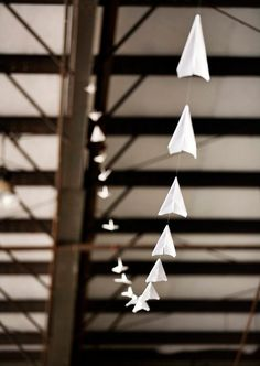 Flying High: Airplane Garland