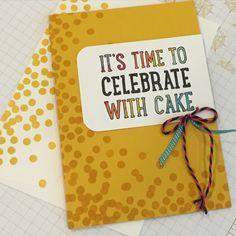 www.stampintreasure.nl Birthday, card, Stampin Up, markers, verjaardag, kaart, gefeliciteerd, party with cake