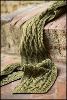 Dryad scarf pattern by Jared Flood