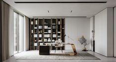 Office Interior Design, Office Interiors, White Room Decor, Neoclassical Interior, Luxury Office, Home Office Storage, 3d Studio, Interiores Design, Interior Architecture