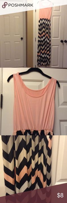 Women's maxi dress peachy color Women's maxi dress Dresses Maxi