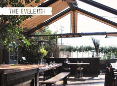 The Eveleigh in West Hollywood has quickly become my go-to spot for meeting friends lately with it's central-ish location, tasty bites, and amazing rustic ambiance. With the recent addition of brunch, we met friends for a lovely morning of eating...