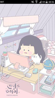 Cute Pastel Wallpaper, Soft Wallpaper, Aesthetic Pastel Wallpaper, Cute Anime Wallpaper, Cute Wallpaper Backgrounds, Wallpaper Iphone Cute, Cute Cartoon Wallpapers, Pattern Wallpaper, Bts Art