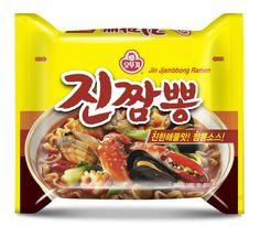 Ottogi Jin Jjambbong x 3,6,10 pcs Korean Fire Spicy Instant Noodles Ramen Ramyun #Ottogi #SpicyKoreanInstantNoodles