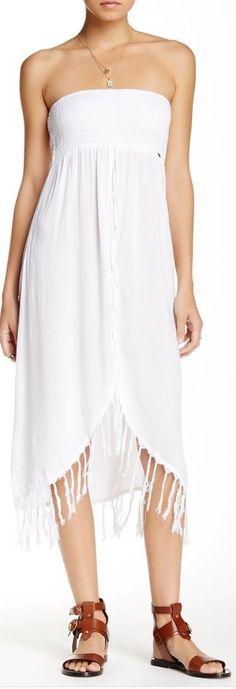 fringe tube dress - sponsored by Nordstrom Rack