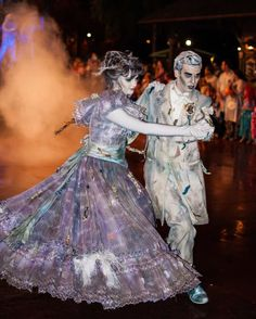 Mickeys Not So Scary Halloween Party-Haunted Mansion Ballroom Dancers