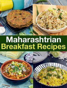 Maharashtrian breakfast recipes in 2019 indian breakfast rec Indian Food Recipes, Gourmet Recipes, Vegetarian Recipes, Cooking Recipes, Indian Snacks, Vegetarian Breakfast Recipes Indian, Vegetarian Curry, Paneer Recipes, Indian Foods
