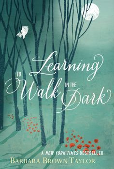 "Learning to Walk in the Dark, by Barbara Brown Taylor In Learning to Walk in the Dark, Taylor asks us to put aside our fears and anxieties and to explore all that God has to teach us ""in the dark.""  2016 Illumination Medalist"