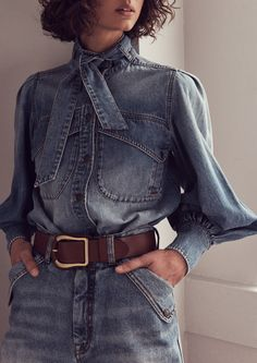 Denim Fashion, Spring, Jackets, Collection, Denim Style, Zimmerman, Down Jackets, Cowgirl Fashion, Denim Outfits