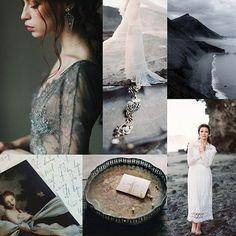 Dark & stormy wedding inspiration