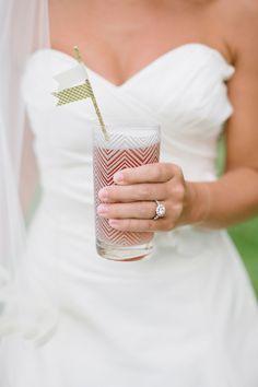 Bayside Bride...1Part Cranberry juice, 1 Part Pineapple Juice, 1 Scoop Lemon Sorbet, 1 Part Lemon Vodka...but I think pineapple vodka would be yum too!!
