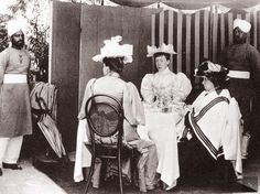 Queen Victoria with Princess Beatrice and Helena Victoria of Schleswig-Holstein