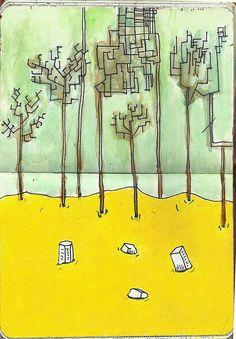#Illustration #drawing #draw #sketchbook #sketch #moleskines #moleskine #arte #art #Chava #ChavaPopCorn
