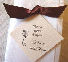 LENCINHO LÁGRIMAS DE ALEGRIA (casamento)