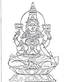 Kerala Mural Painting, Tanjore Painting, Outline Drawings, Art Drawings, Pencil Drawings, Pencil Shading, Arte Krishna, Yoga Position, Hindu Statues