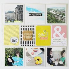 // MAY 19 - 25 by bckueser at Life Inspiration, Creative Inspiration, Pocket Scrapbooking, Scrapbook Layouts, Project Life Album, Paper Supplies, Studio Calico, Congratulations, In This Moment