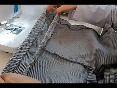 Lastikli Pantolon Nasıl Dikilir - Lastik Belli Pantolon -How to Build a Rubber Trouser Stand By Me, Pretty Dresses, Trousers, Sewing, How To Wear, Youtube, Patterns, Dressmaking, Stay With Me