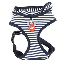 Puppia Authentic Beach Party Harness Small Navy *** Want to know more, click on the image.