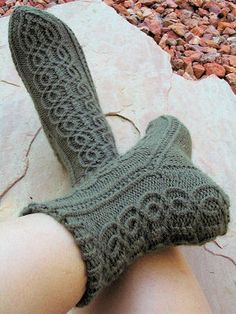 Mizar socks by Anna Zilboorg