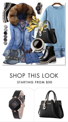 """Denim-Autumn"" by ilona-828 ❤ liked on Polyvore featuring denim, autumn and zaful"