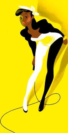 Annette Marnat, via the art of animation