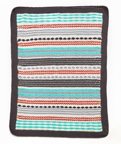 Inspired Stripe Throw | Red Heart