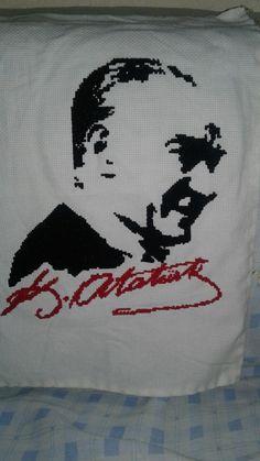 Veeeee 3 günün sonunda baboşumun cok istedigi #Atatürk ü yaptımmmmm ❤❤❤ #Atatürk #etamin