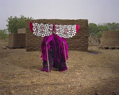 Africa | Volta Noire - Burkina Faso mask. Gurunsi village in Burkina Faso. | © Jean-Claude Moschetti