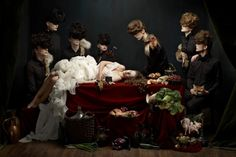Cockaignesque by Helen Sobiralski - A Lush Photo Series Inspired by Baroque Paintings