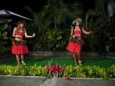 Polynesian Dancing in American Samoa  >>  Excellent in spirit, athleticism (watch the knees), beauty, sensuality, and drumming