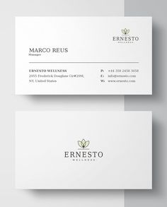 Clean Minimalist Business Card Template #businesscard #branding #printready #CMYK #psdtemplate #minimaldesign #printable