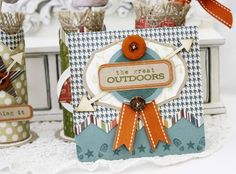 The Great Outdoors Card by Melissa Phillips for Papertrey Ink (May 2012)