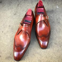 """The """"Carlyle"""" on the square Deco last. Made to... - Gaziano & Girling - Bespoke & Benchmade Footwear"""