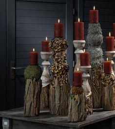 christbaumst nder schwemmholz kerzenst nder wohnen und garten foto dekoideen pinterest. Black Bedroom Furniture Sets. Home Design Ideas