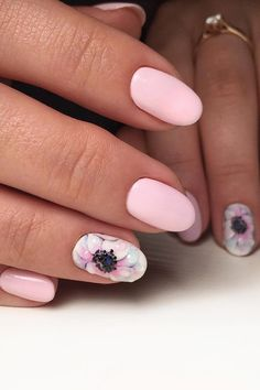 30 Cute Nail Design Ideas For Stylish Brides ❤ See more: http://www.weddingforward.com/nail-design/ #wedding #nails