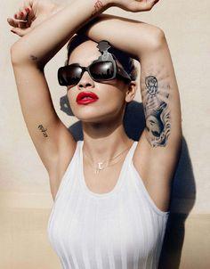 Rita Ora - Be, France, July 2013 #RedLips