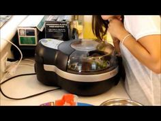 Shimp and Vegetable Stir Fry with T-Fal Actifry Shrimp Stir Fry, Fried Shrimp, Vegetable Stir Fry, Vegetable Recipes, Yummy Recipes, Cooking Recipes, Yummy Food, Actifry Recipes, New Kitchen Gadgets